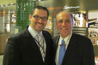 Training Center Director Mario Reis Alvares-da-Silva and WGO President Henry Cohen