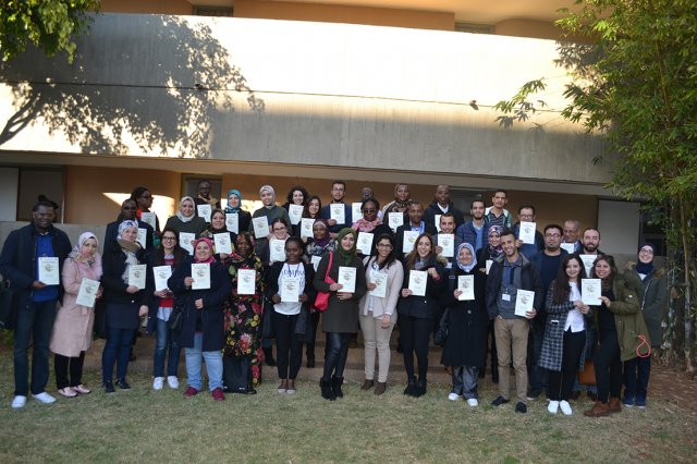 Participants from the 17th Annual Course of the Rabat Training Center.