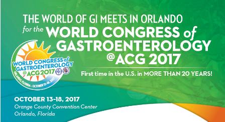 World Congress of Gastroenterology 2017