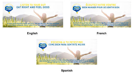 Danone Listen to Your Gut - Eat Right and Feel Good
