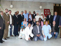 Faculty and participants of the First Ultrasound Course at the WGO Cairo Training Center.