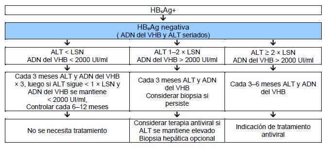 nb se debe realizar vigilancia del chc si est indicado dependiendo de edad sexo gravedad de la enfermedad heptica y antecedentes familiares