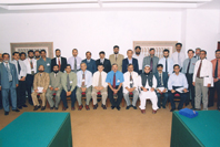 Chronic Liver Disease Workshop Participants at the WGO-AKU Training Centre, 2005.